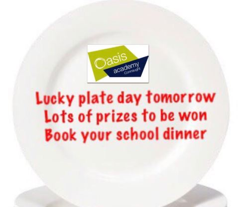 Don't miss out on the exciting lucky dinner!